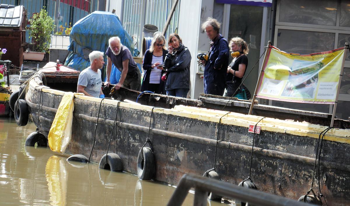 Kilsby Theatre Boat at Tooley's Boatyard
