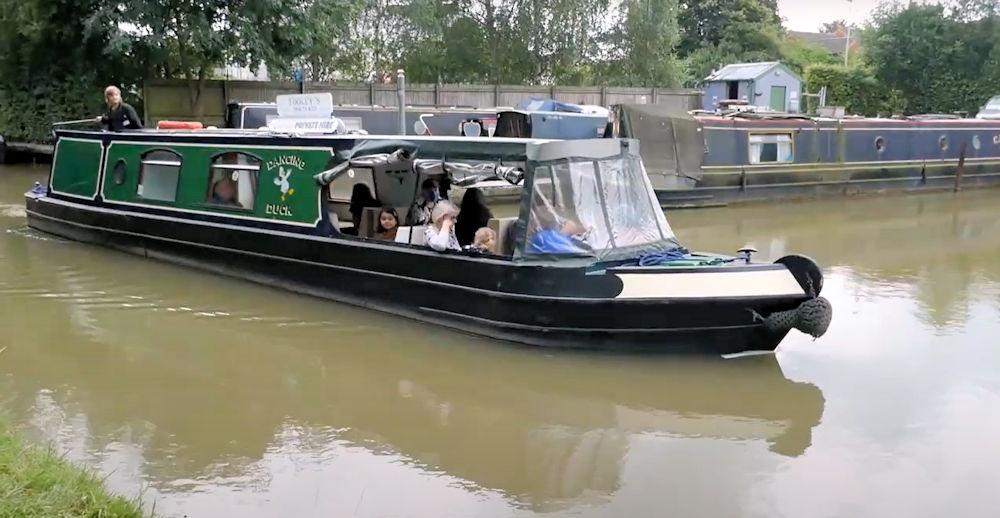 October at Tooley's Boatyard